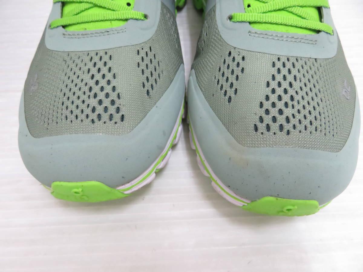On 15.99991 Cloudflow Moss Lime US:M9 27.0cm オン クラウドフロー モス ライム メンズ ランニングシューズ スニーカー スポーツ 運動 靴_画像2
