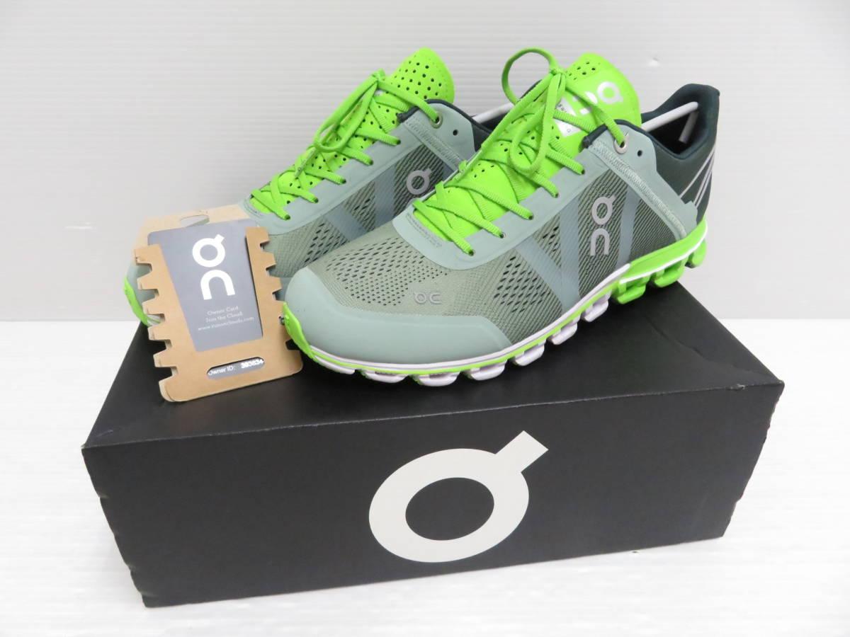 On 15.99991 Cloudflow Moss Lime US:M9 27.0cm オン クラウドフロー モス ライム メンズ ランニングシューズ スニーカー スポーツ 運動 靴