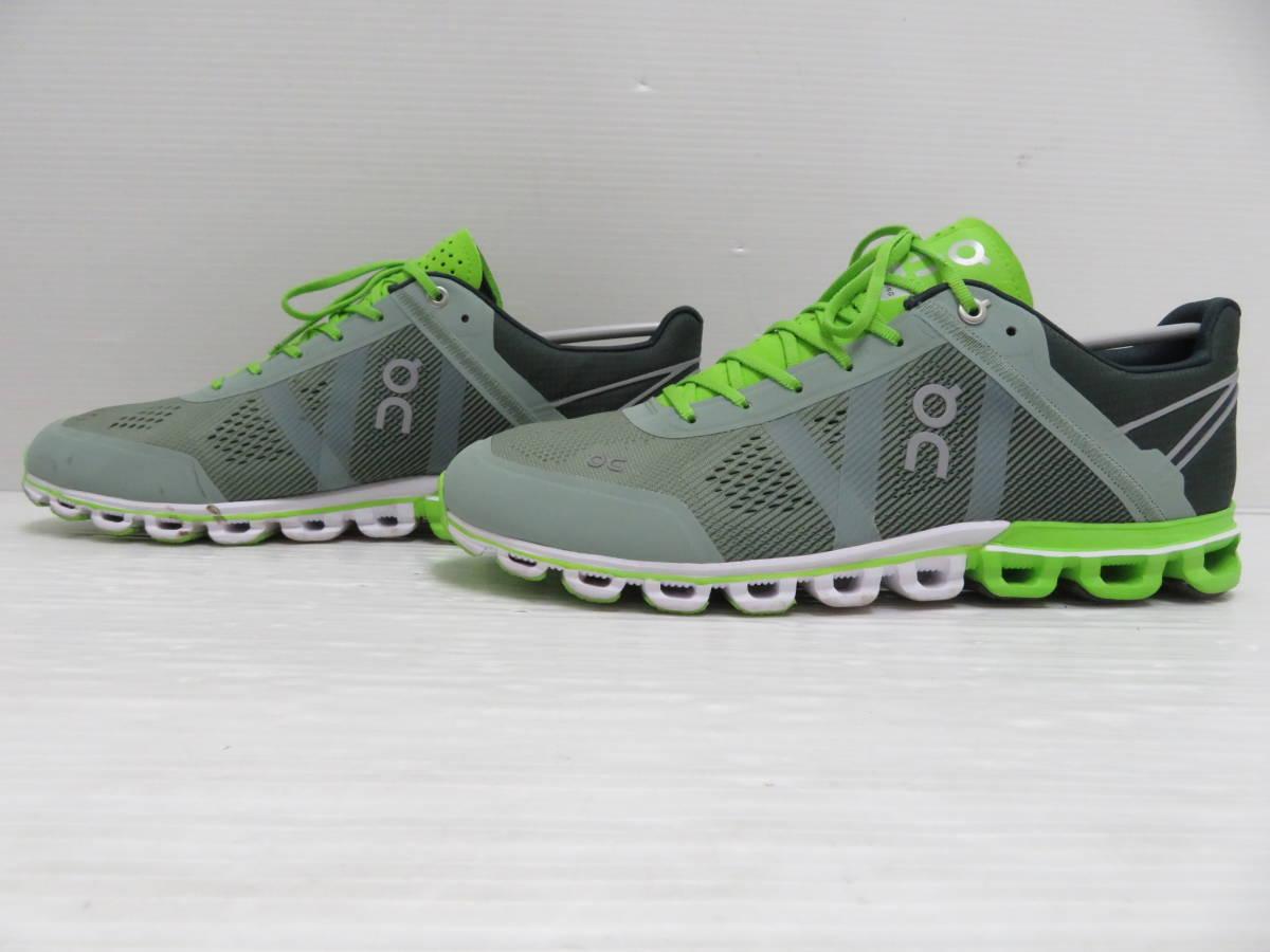 On 15.99991 Cloudflow Moss Lime US:M9 27.0cm オン クラウドフロー モス ライム メンズ ランニングシューズ スニーカー スポーツ 運動 靴_画像4