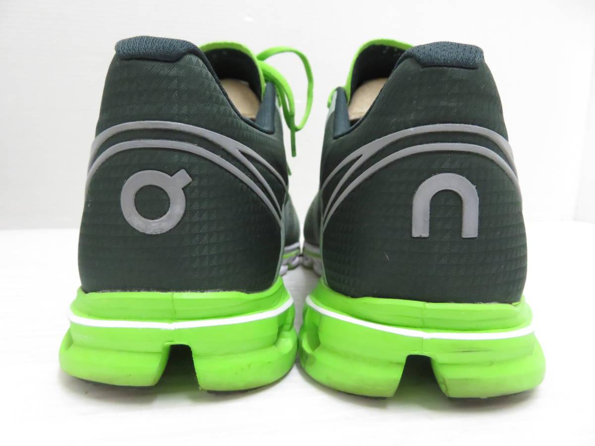 On 15.99991 Cloudflow Moss Lime US:M9 27.0cm オン クラウドフロー モス ライム メンズ ランニングシューズ スニーカー スポーツ 運動 靴_画像3