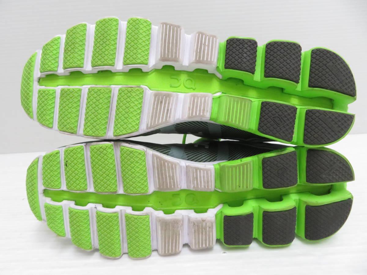 On 15.99991 Cloudflow Moss Lime US:M9 27.0cm オン クラウドフロー モス ライム メンズ ランニングシューズ スニーカー スポーツ 運動 靴_画像5