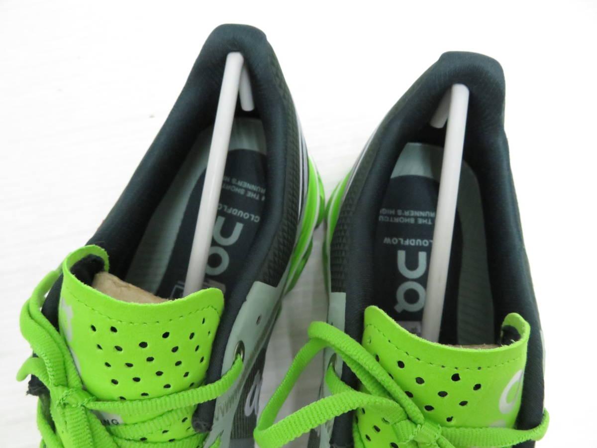 On 15.99991 Cloudflow Moss Lime US:M9 27.0cm オン クラウドフロー モス ライム メンズ ランニングシューズ スニーカー スポーツ 運動 靴_画像6