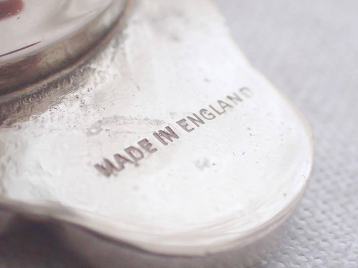 英国アンティーク 純銀P Silver シルバー キャンドルホルダー ヴィクトリアン キャンドルスタンド イギリス製_画像9