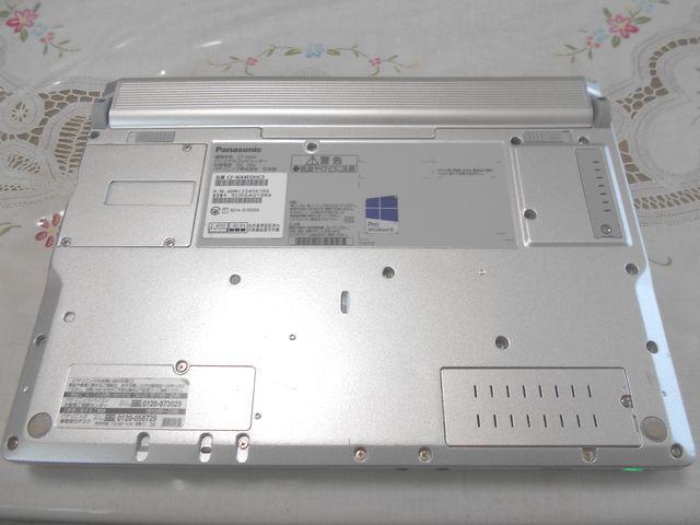 ★ほぼ美品★ Panasonic Let's note CF-NX4 Core i5/4GB/320GB/Windows10 Pro/Office2016 NO,6004_画像8