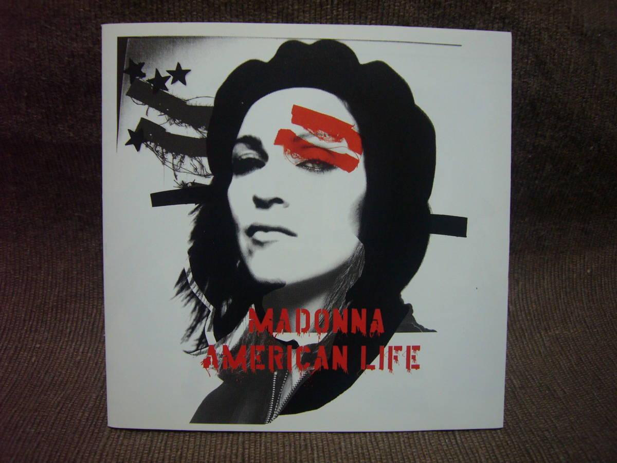 MADONNA マドンナ / AMERICAN LIFE / 日本盤 / 歌詞&訳詞カード付き_画像1