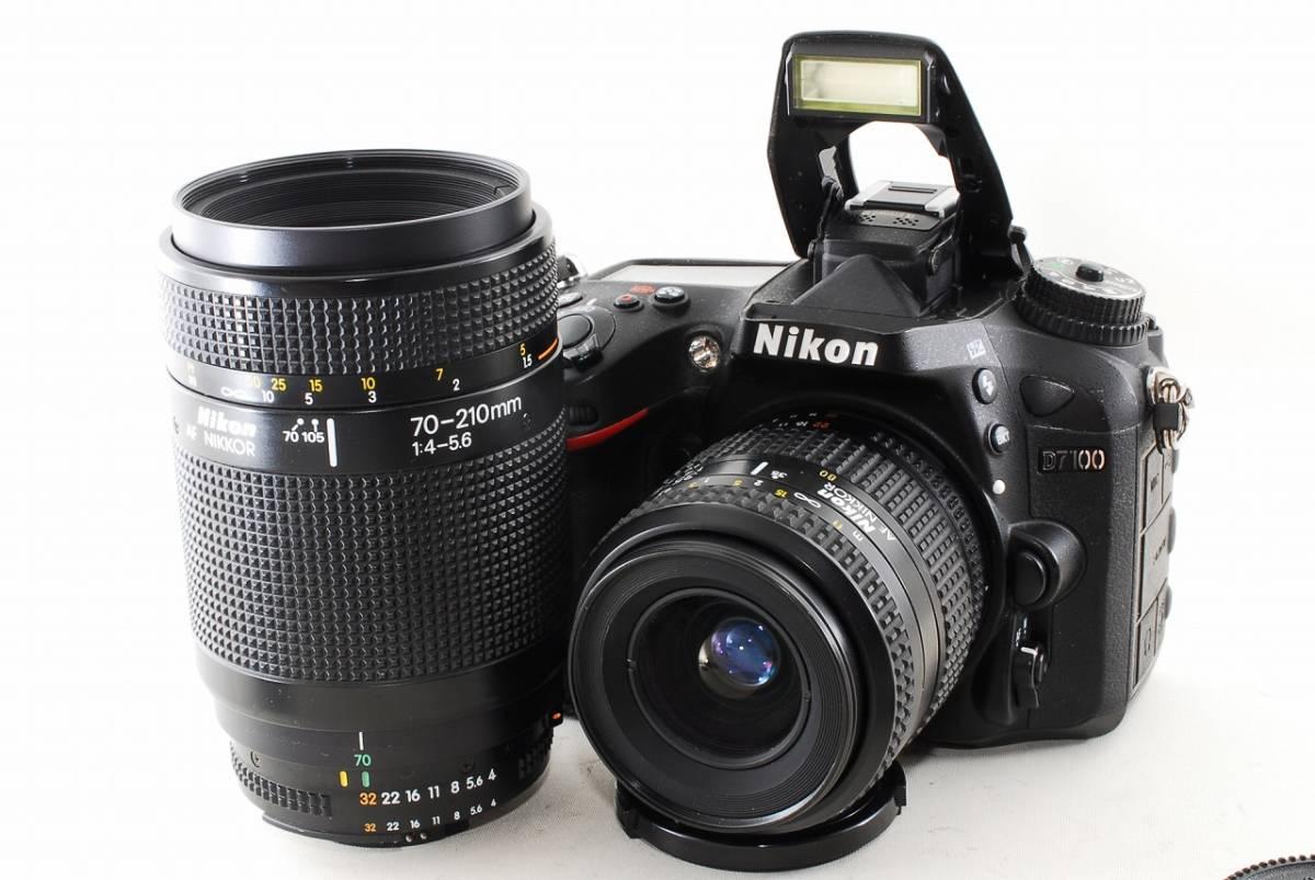〓極美級〓 ニコン Nikon D7100 超望遠 Wレンズセット ★ ダブルレンズセット ♪_画像2