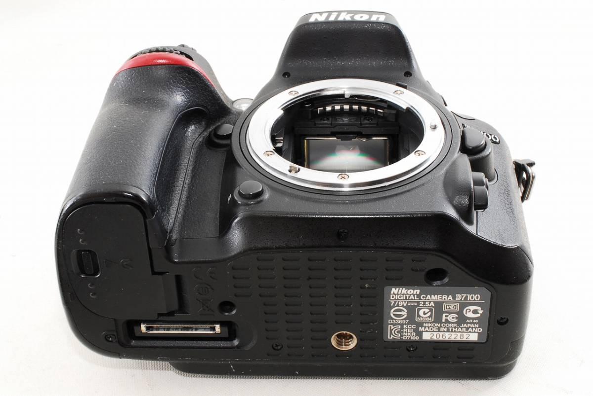 〓極美級〓 ニコン Nikon D7100 超望遠 Wレンズセット ★ ダブルレンズセット ♪_画像5