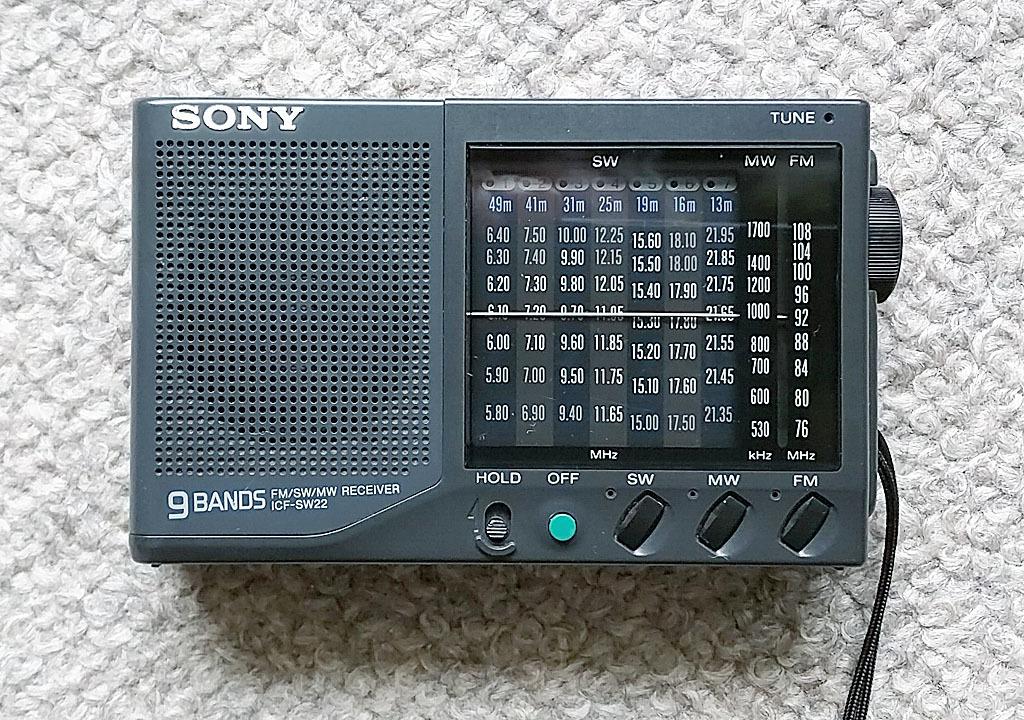 ソニー ICF-SW22