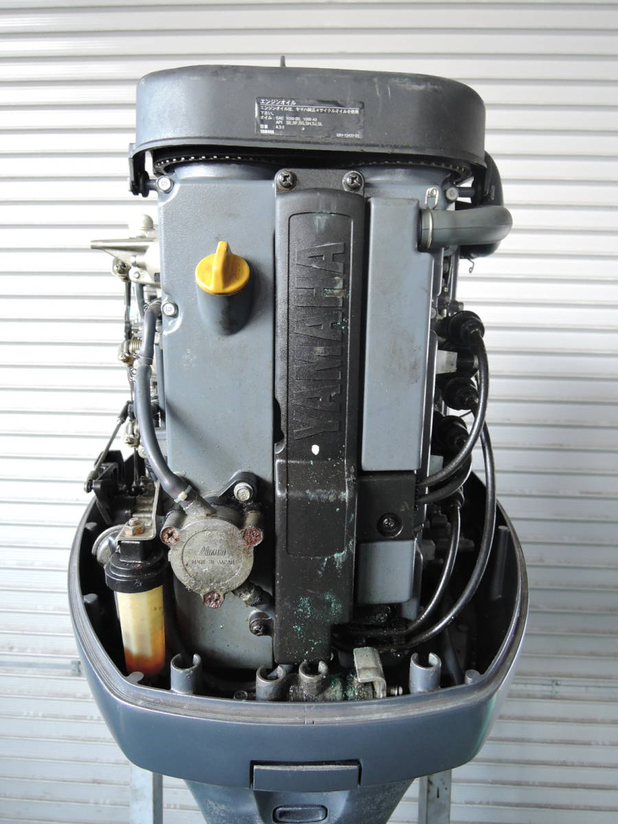 エンジン始動OK YAMAHA ヤマハ 船外機 95馬力 4スト K530612 スズキ トーハツ ホンダ 60 70 80 90 100 130 150 yamaha suzuki honda_画像9