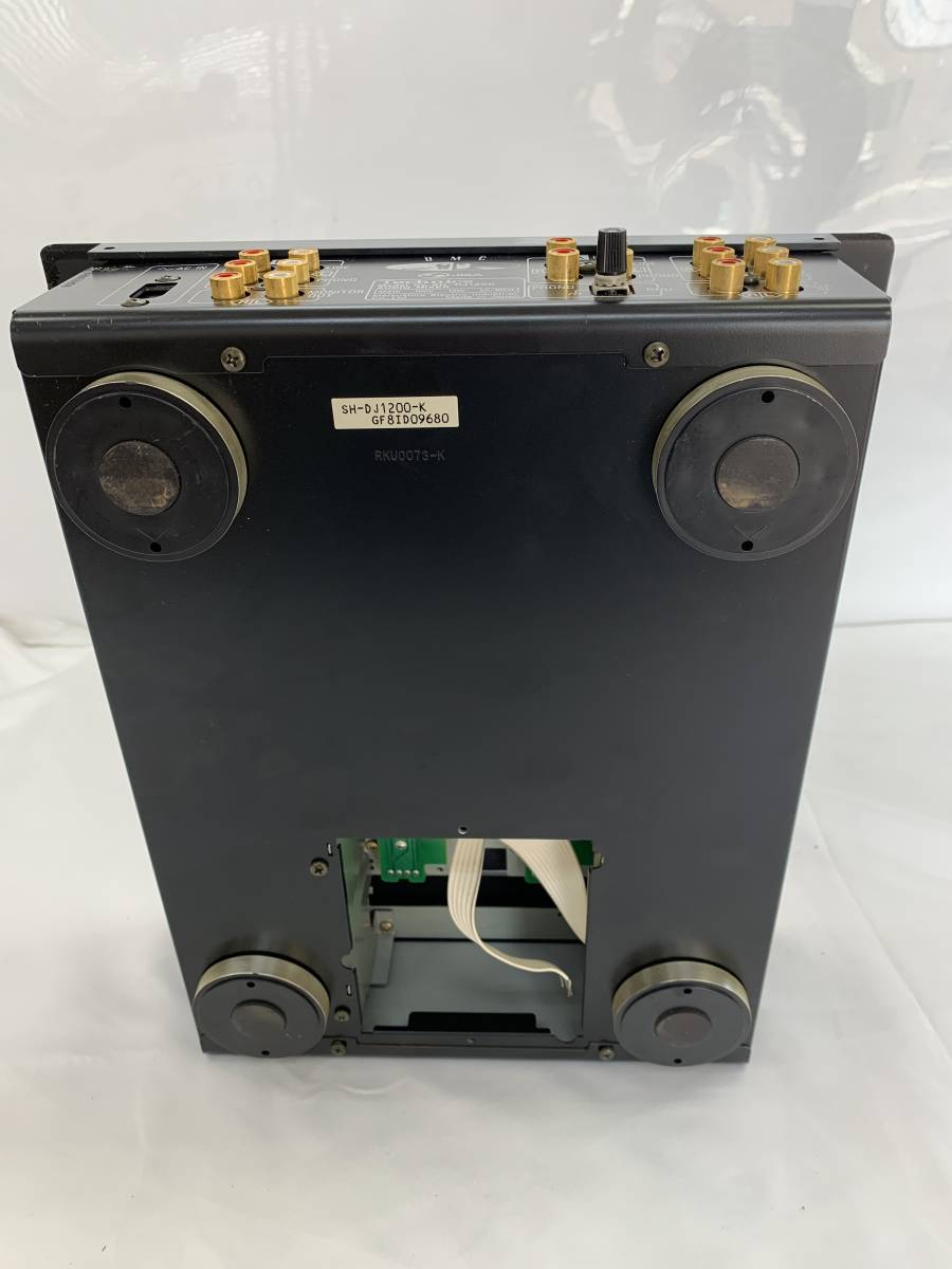 未確認● Technics テクニクス SH-DJ1200 オーディオミキサー〇fy_画像2