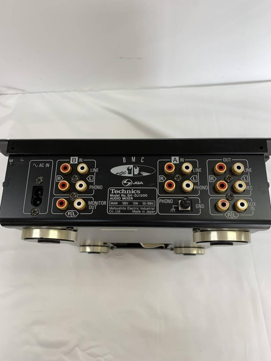 未確認● Technics テクニクス SH-DJ1200 オーディオミキサー〇fy_画像3