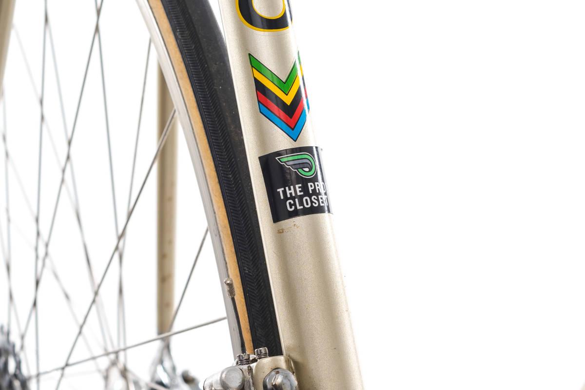 basso バッソ  クロモリ ビンテージ自転車 1982 カンパレコード 美車_画像3