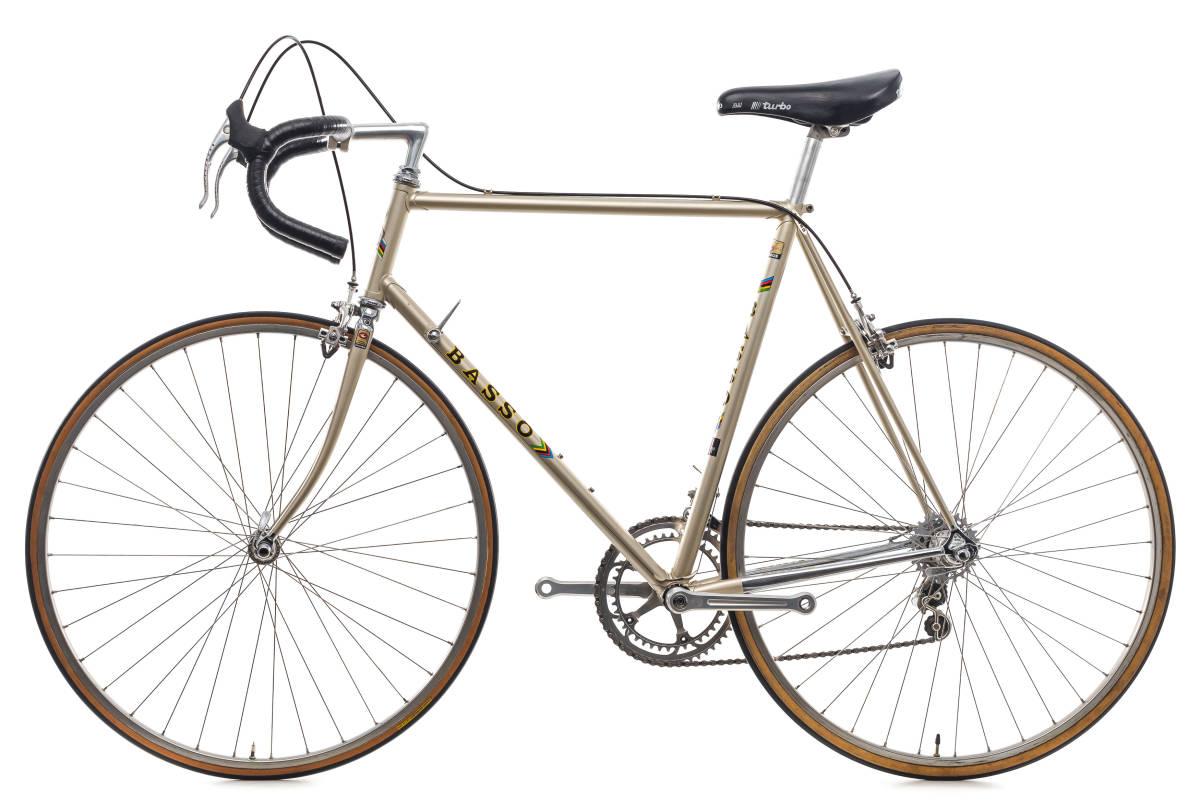 basso バッソ  クロモリ ビンテージ自転車 1982 カンパレコード 美車_画像2