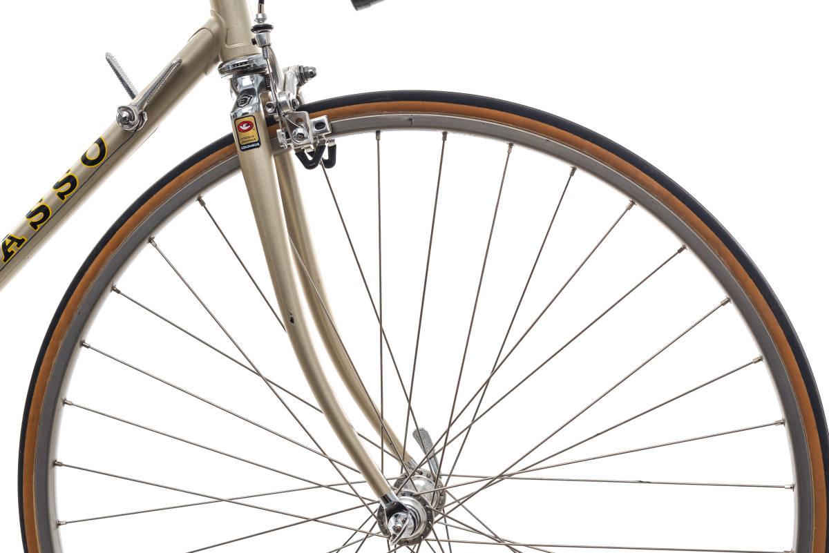 basso バッソ  クロモリ ビンテージ自転車 1982 カンパレコード 美車_画像5
