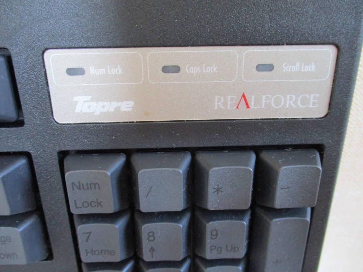 【激安】東プレ株式会社 REALFORCE USBキーボード YK0100 日本製■SJ38CO MADE IN JAPAN フルキーボード パソコン 激レア 入手困難_画像5