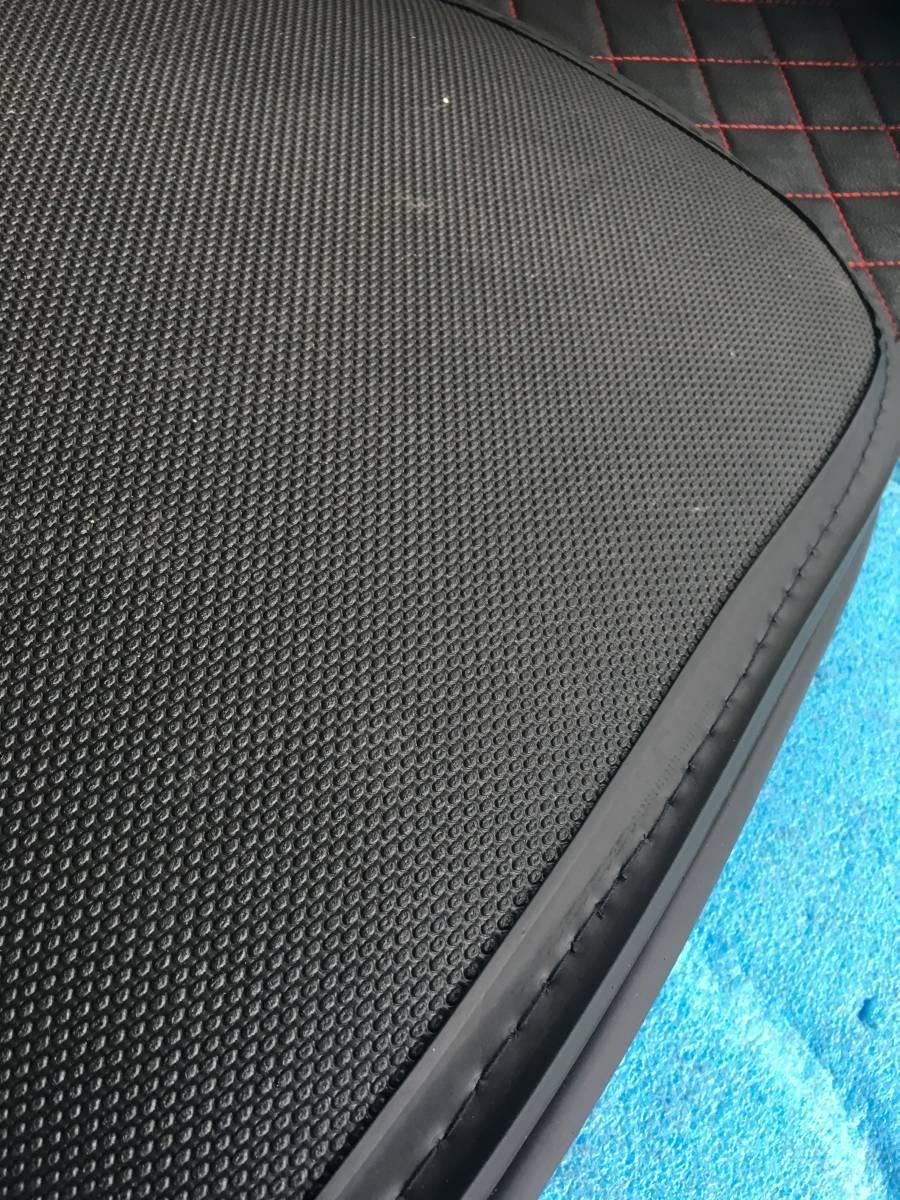 ◆30プリウス用  レザー製ラゲージ,トランク防水マット _画像4