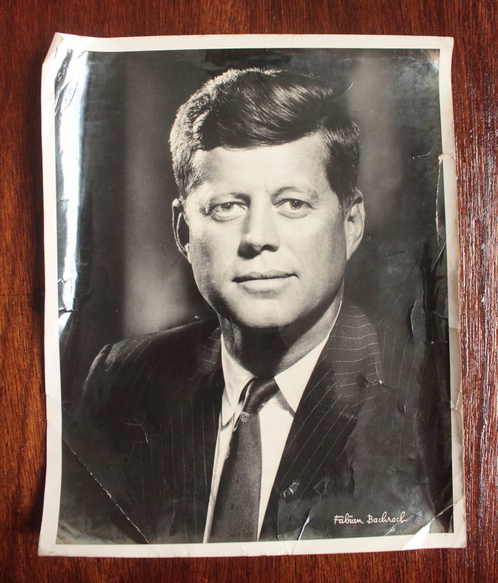 ジョン・F・ケネディ手紙 他5点一括 自筆署名書簡 肉筆サイン 大判ブロマイド 大統領選 上院議員 1960年 貴重資料 JFK ジャクリーン 兄弟_画像7
