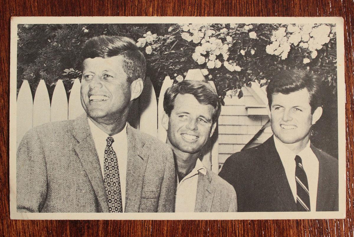 ジョン・F・ケネディ手紙 他5点一括 自筆署名書簡 肉筆サイン 大判ブロマイド 大統領選 上院議員 1960年 貴重資料 JFK ジャクリーン 兄弟_画像9