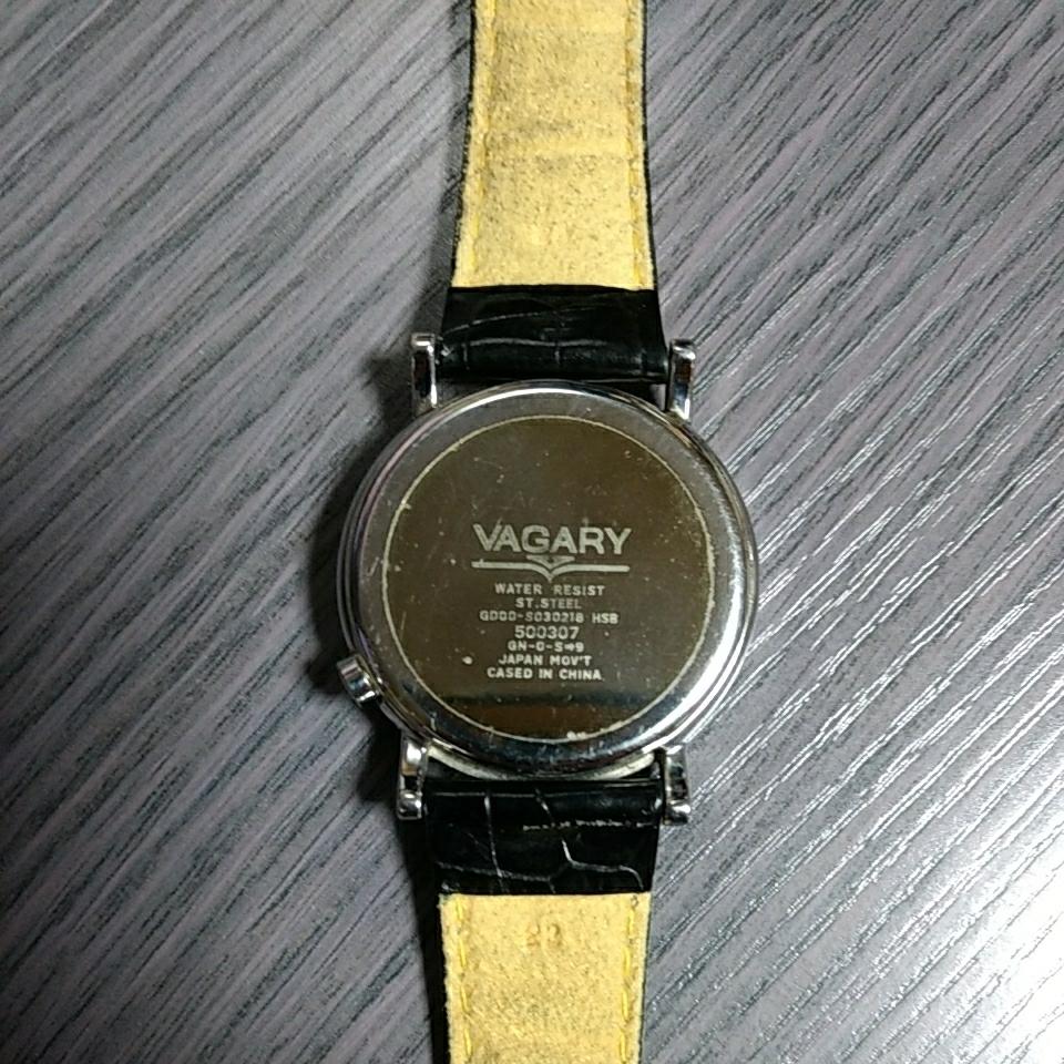 シチズン ヴァガリー VAGARY バガリー デュアルタイム レトログラード 腕時計 稼働品_画像3
