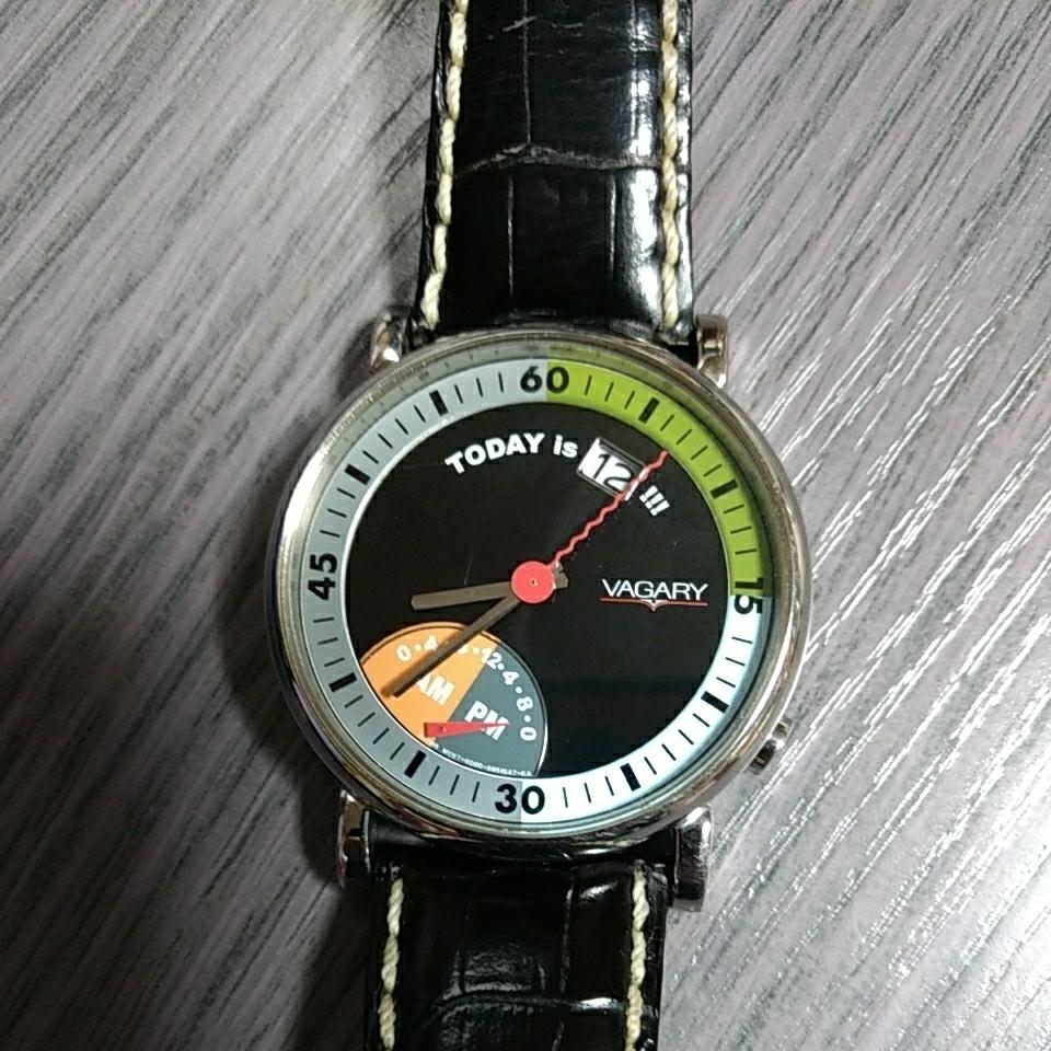シチズン ヴァガリー VAGARY バガリー デュアルタイム レトログラード 腕時計 稼働品_画像1