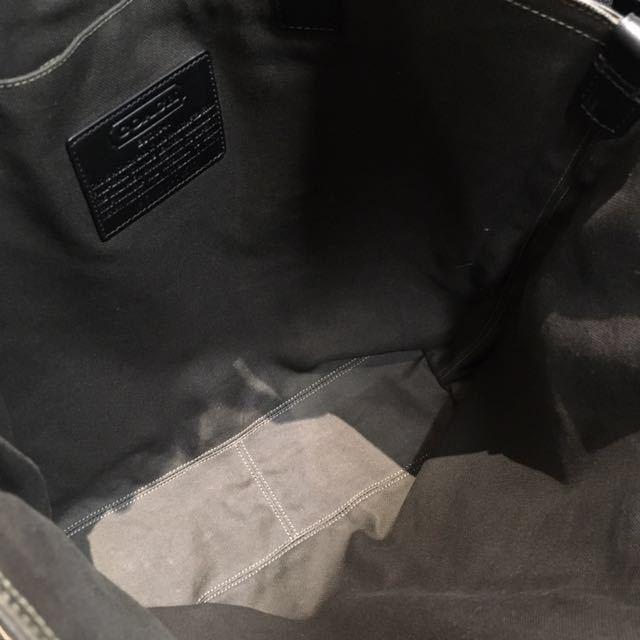 cfa38381ba38 【美品】COACH コーチ メンズ ブリーカー レガシー リバーシブル レザートートバッグ 70502 1000円