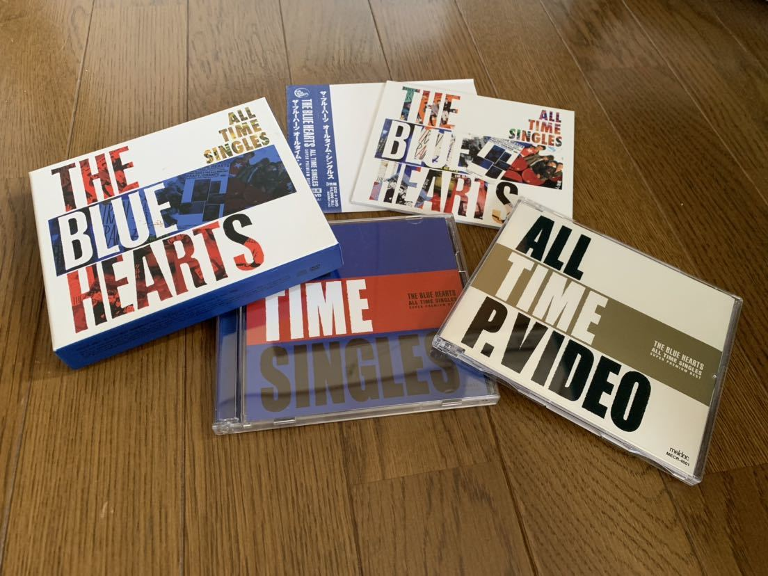THE BLUE HEARTS/ALL TIME SINGLES 2CD 1DVD ザ ブルーハーツ