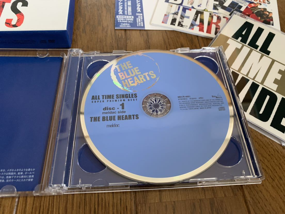 THE BLUE HEARTS/ALL TIME SINGLES 2CD 1DVD ザ ブルーハーツ _画像2