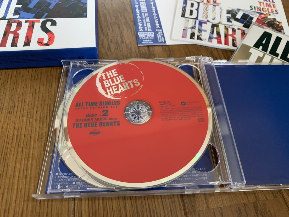 THE BLUE HEARTS/ALL TIME SINGLES 2CD 1DVD ザ ブルーハーツ _画像3