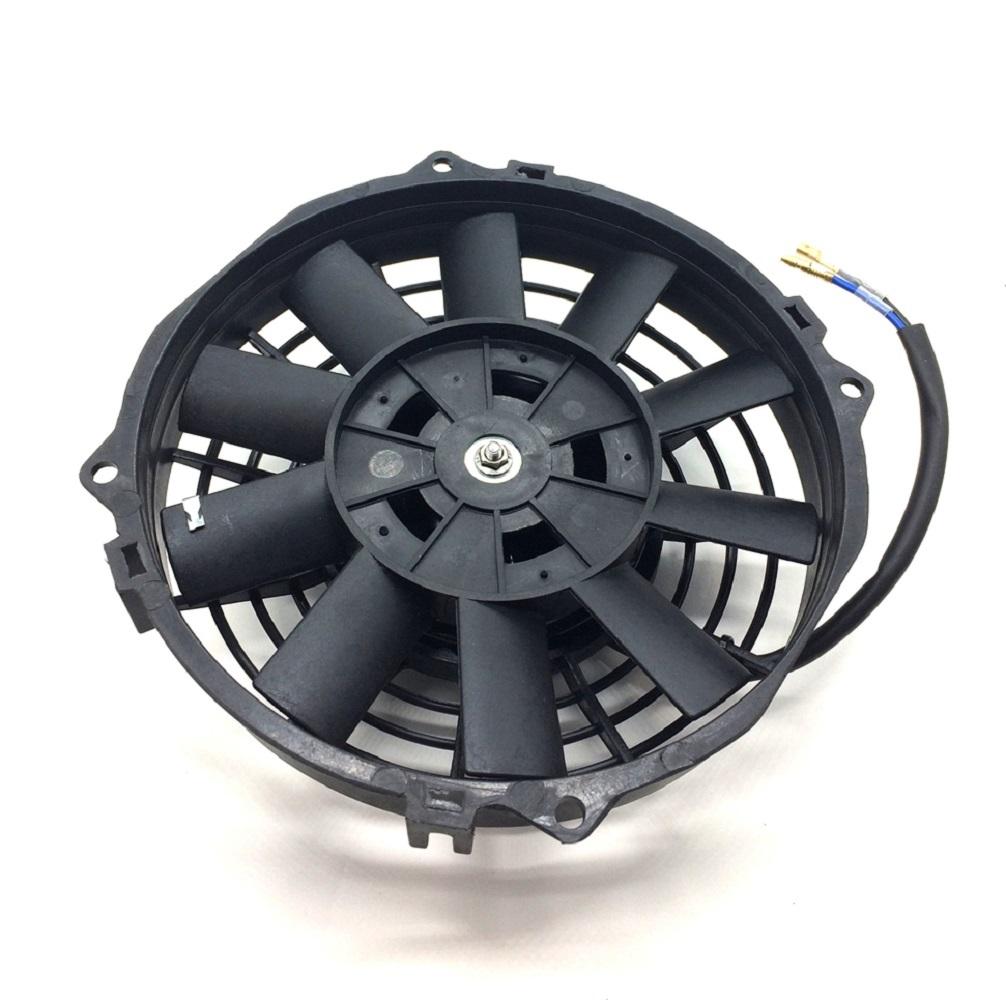 12V 電動ファン ラジエターファン 7インチ プル式 プルタイプ 汎用 薄型 冷却用 クーラー ラジエーター ファン_画像3