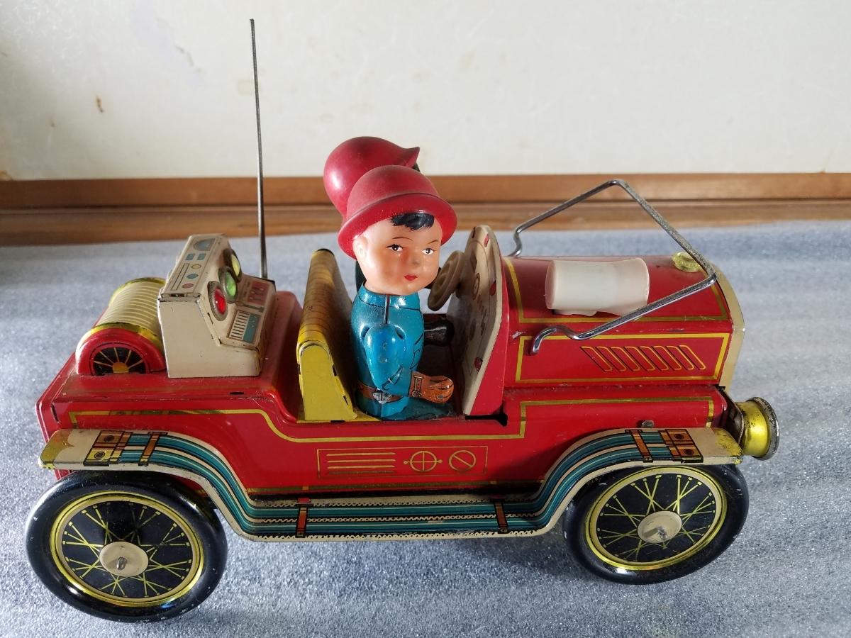 当時物 レア ブリキ製 オモチャ 車