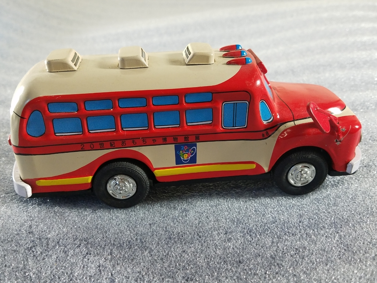 当時物 ブリキ 自動車 20世紀おもちゃ博物館展 レア品_画像4