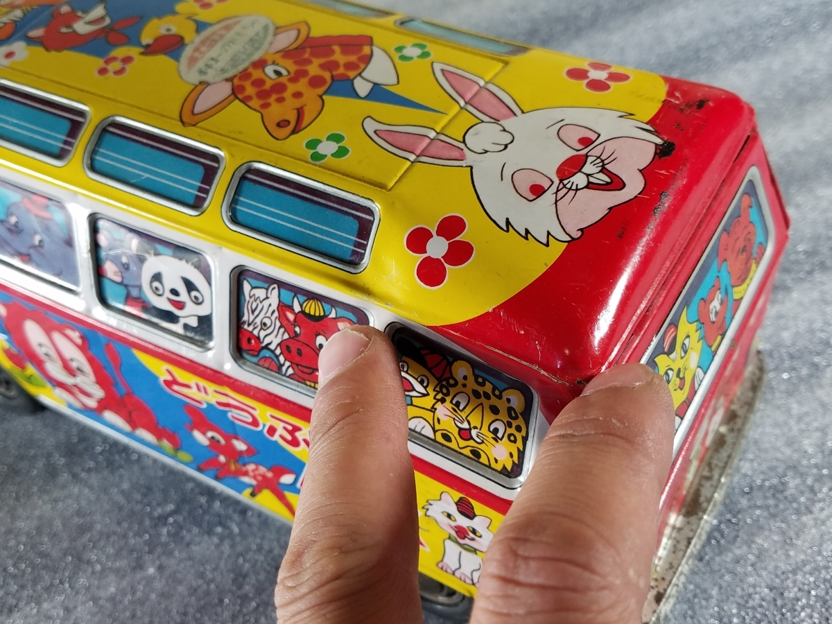 当時物 ブリキ 自動車 MADE IN JAPAN ICHIKO_画像7