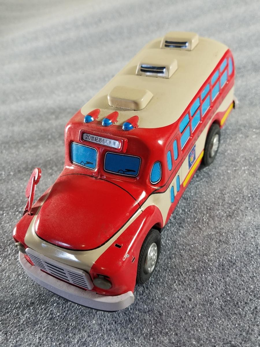 当時物 ブリキ 自動車 20世紀おもちゃ博物館展 レア品_画像9