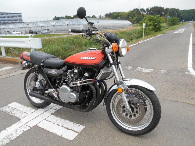 Z750RS Z2 昭和49年式 車検2年付 古い「栃木」ナンバー 検索 Z1 750RS KZ1000 MK1 MK2 500SS CB750 マッハ 絶版車 火の玉 Z1R 400ss 350