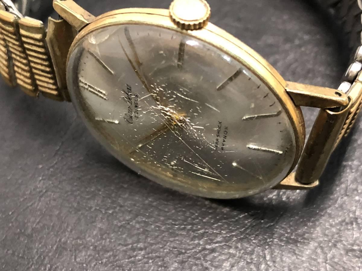 1円~ シチズン DELUXE 19石 腕時計 手巻き 14K張り ゴールド レディース CITIZEN _画像3