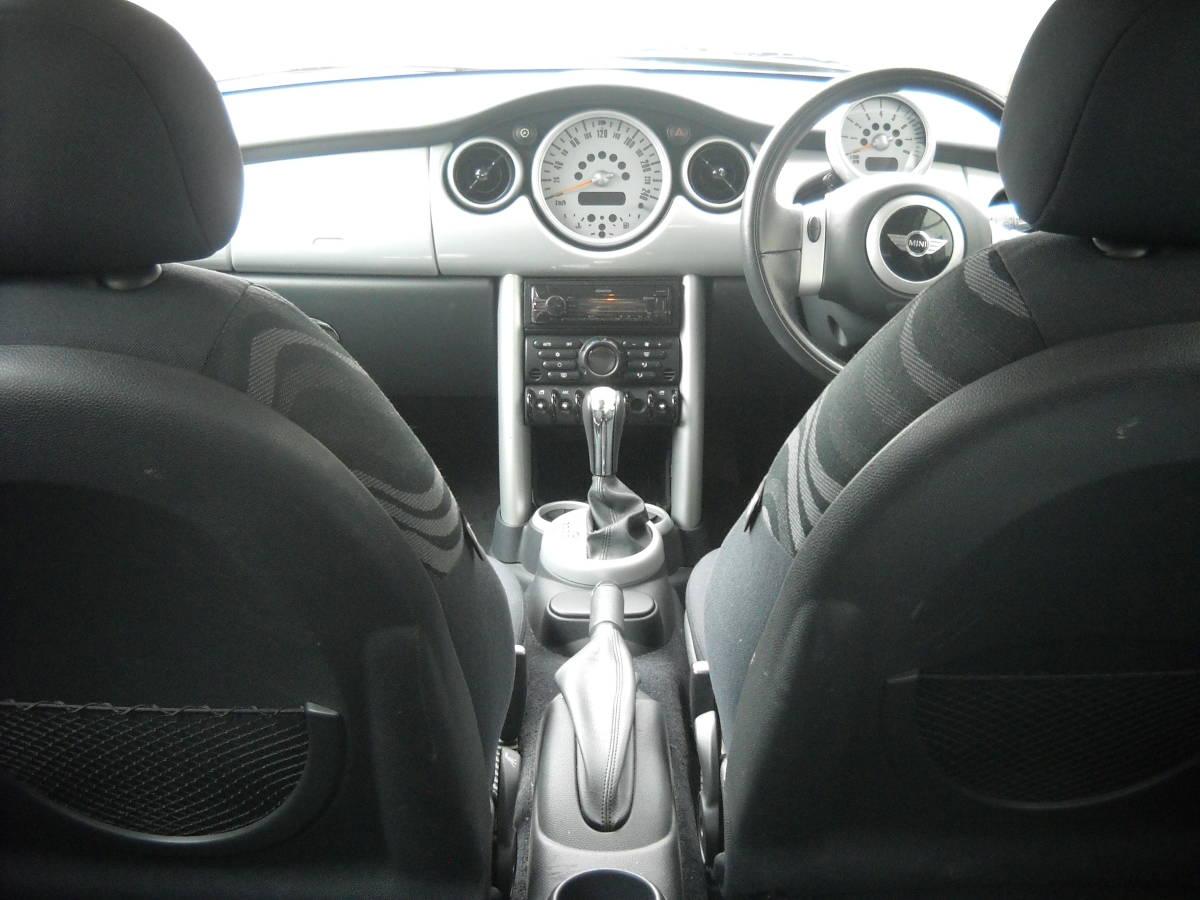 ☆北海道札幌 個人出品 BMW MINI ONE ミニワン 平成16年 64,819km ブルートゥース BluetoothCD☆_画像4
