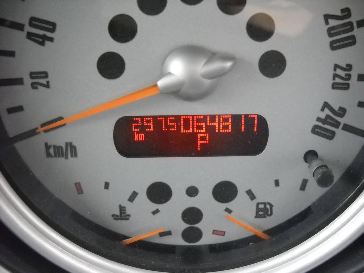 ☆北海道札幌 個人出品 BMW MINI ONE ミニワン 平成16年 64,819km ブルートゥース BluetoothCD☆_画像7