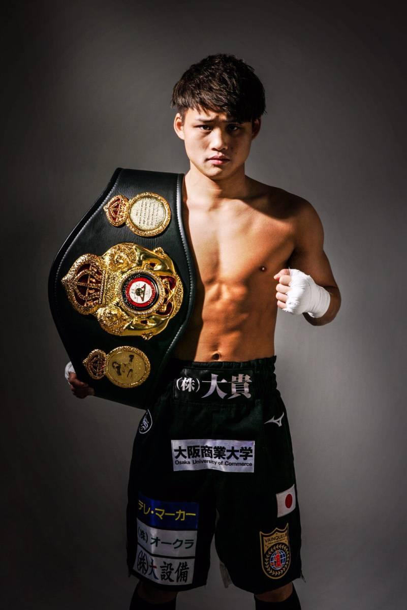 京口紘人選手(Lフライ級)