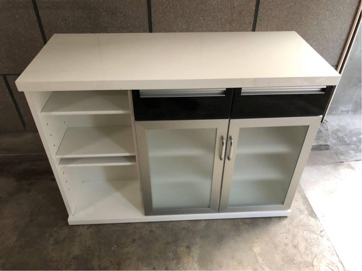 大特価【ニトリ】キッチンカウンター バーカウンター 収納家具 キッチンボード