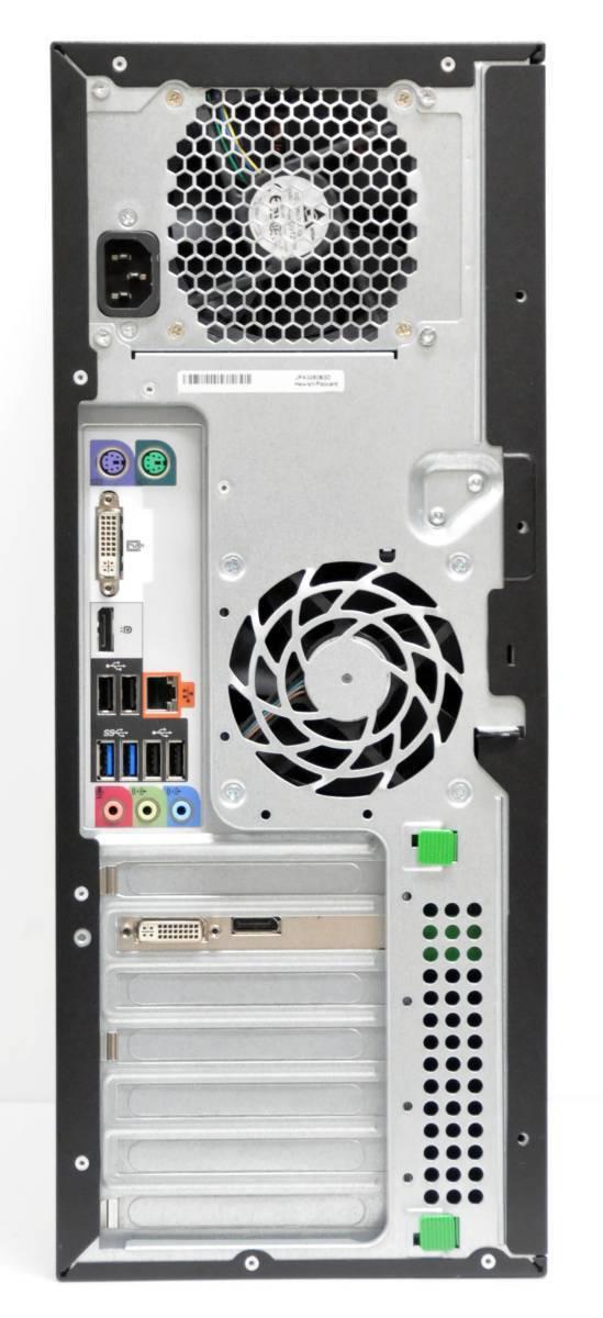 *4 core 8s red HP Z220 Workstation Xeon E3-1270V2 3.5GHz memory 8GB high capacity HDD 500GB Quadro600 multi Win10Pro64