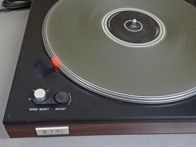 ■VICTORビクター ステレオレコードプレーヤー JL-F45R フルオートマチック ダイレクトドライブシステム 中古■_画像2