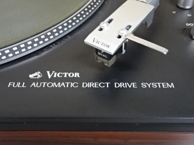 ■VICTORビクター ステレオレコードプレーヤー JL-F45R フルオートマチック ダイレクトドライブシステム 中古■_画像4