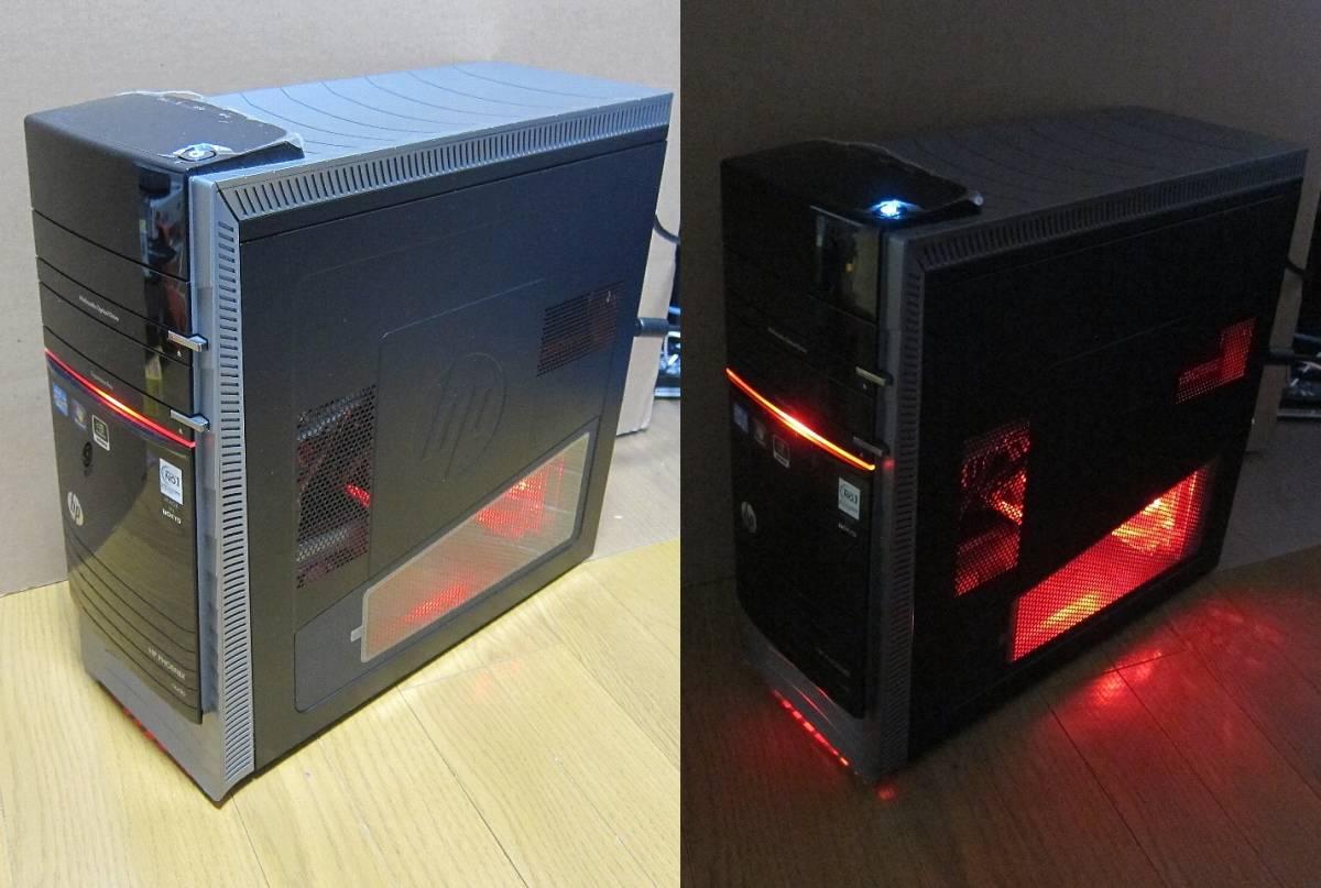 ♪ 令和特価 HP Pavilion h9-1190jp Phoenix 3.6GHz(Boost 3.80GBz) R9 NANO-4GB /8GB/SSD480GB/HDD 2TB/DVD/Win10 Home ゲーミングPC ♪_画像5