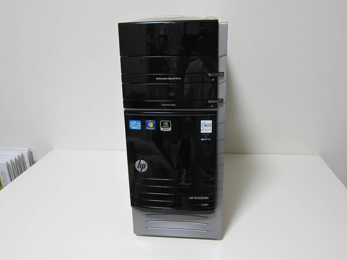 ♪ 令和特価 HP Pavilion h9-1190jp Phoenix 3.6GHz(Boost 3.80GBz) R9 NANO-4GB /8GB/SSD480GB/HDD 2TB/DVD/Win10 Home ゲーミングPC ♪_画像2
