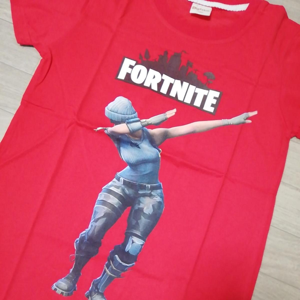 新品タグ付き フォートナイト FORTNITE Tシャツ キッズ 子供用 大人気 ゲーム オンライン 150_画像2