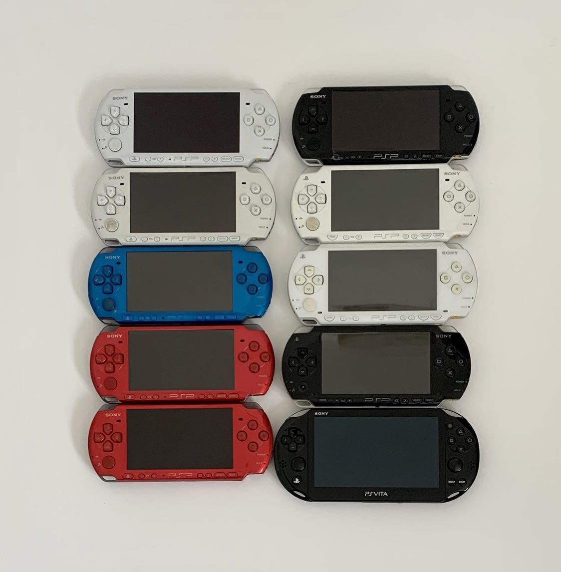 SONY PSP3000/PSP2000/PSP1000/PS VITA PCH-2000 ジャンク 10台セット まとめて
