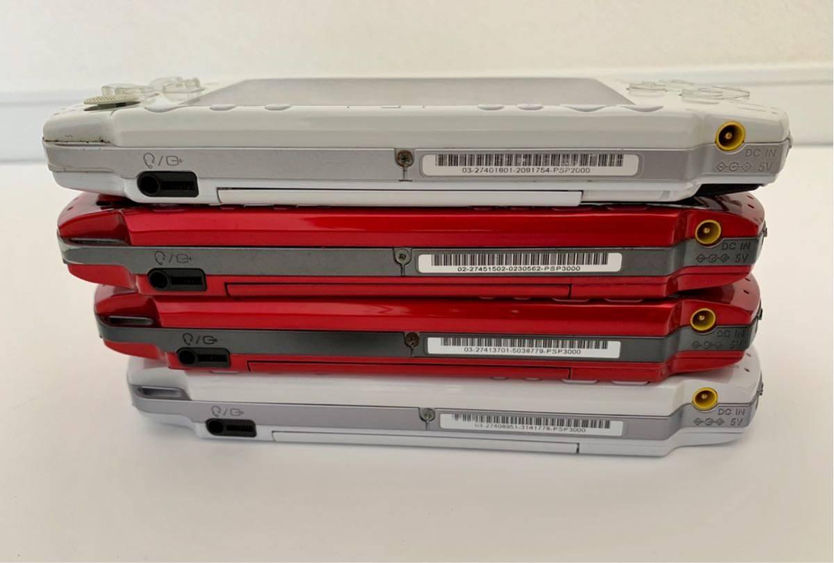 SONY PSP3000/PSP2000/PSP1000/PS VITA PCH-2000 ジャンク 10台セット まとめて_画像4