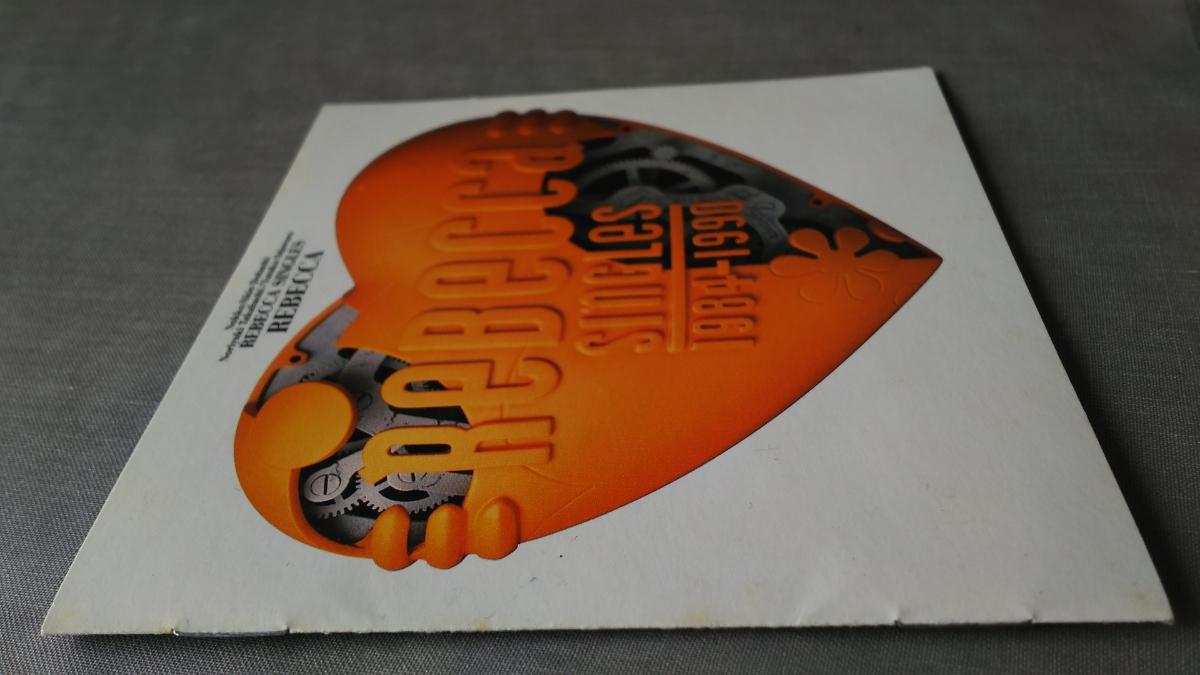 REBECCA レベッカ アルバムCD ベスト盤「 SINGLES 1984-1990 」全13曲_ジャケットのシミ等の状態