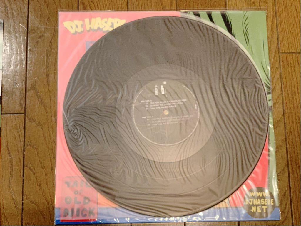 未使用 美品 DJ HASEBE - TAIL OF OLD NICK EP KAWSジャケット & オフィシャルポスター KAWS レア 希少 レコード_画像5