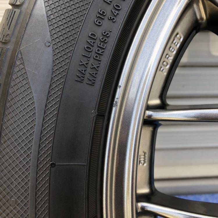NANOENERGY 2 AAA17インチ BBS RG-R 7J DBK 4本セット SEV ホイールR 外しました プリウス タイヤ ホイール ナノエナジー2 セブ_傷のある場所をアップにしました。